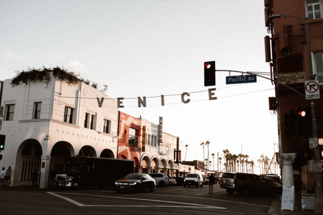 Venice beach a Los Angeles par Madeleine - Photographe